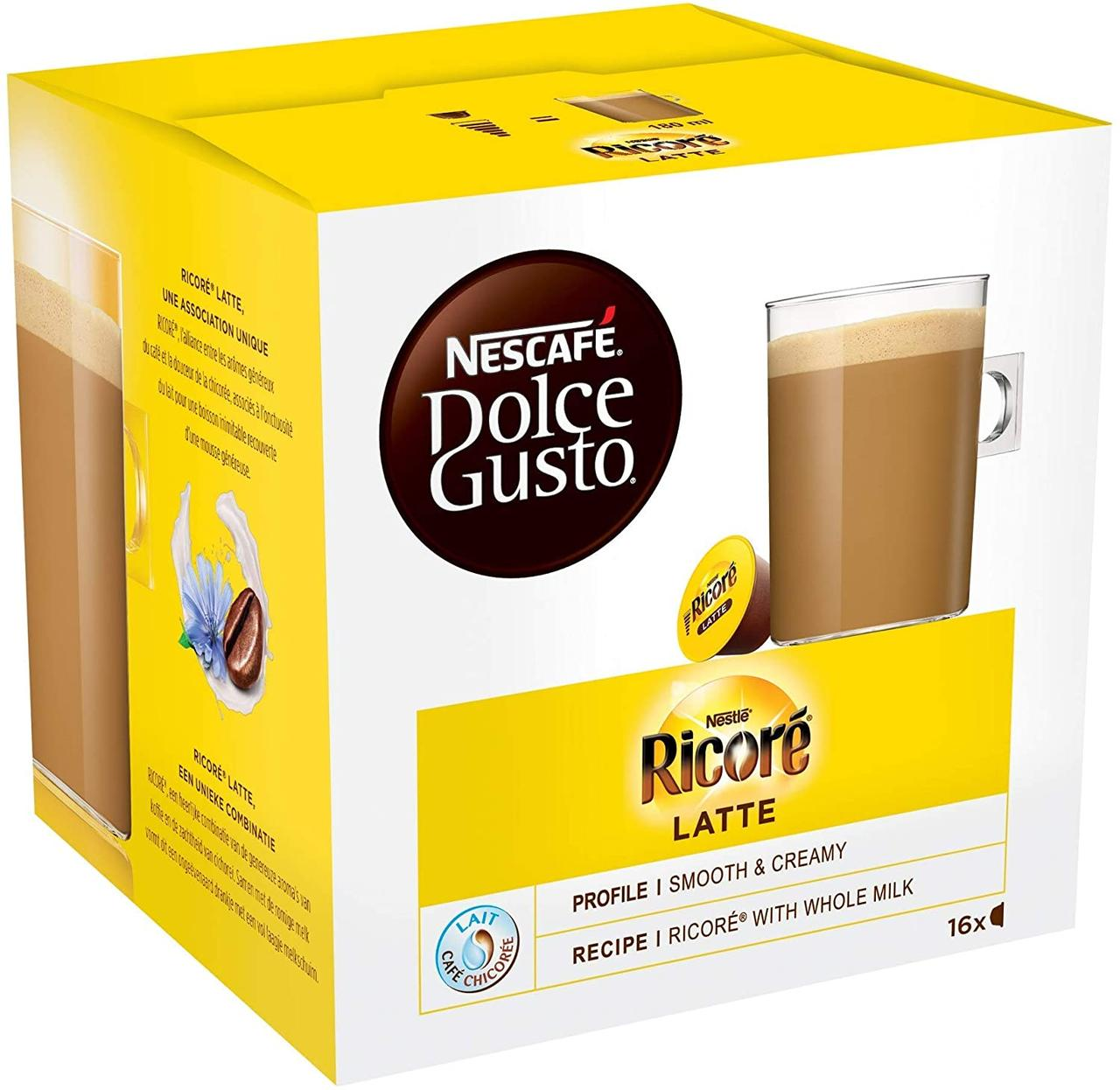 Dolce Gusto Ricore Latte - Кофе в капсулах Дольче Густо 16 порций!!!
