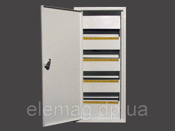 Щиток металлический  на 48 автоматов врезной - интернет-магазин  Elemag электроника        График работы: с 08:30 до 17:00 Вс: выходной в Днепре