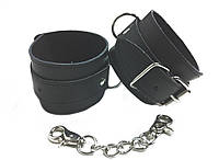 Наручники для игр BDSM кожаные