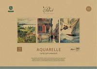 Папка для акварели А4+ Школярик  10 листов  280 г/м2 Prof-art  PD-A4-004