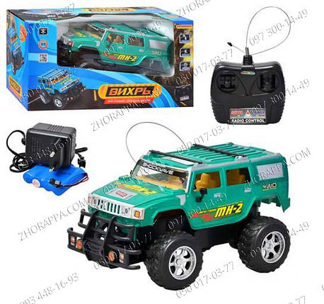Игрушки на радиоуправлении, Джип QX 333, машинки на управлении, Машинка Hummer на радиоуправлении, Игрушки р/у, фото 2