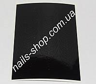 Чёрные наклейки для ногтей №5  (33 шт)