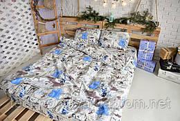 Комплект постільної білизни Brettani Сімейний 240 х 220 см (10023)