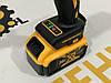 Безщеточный ударный аккумуляторный гайковерт -  DeWalt 36в 5a/ч (КОПИЯ), фото 6