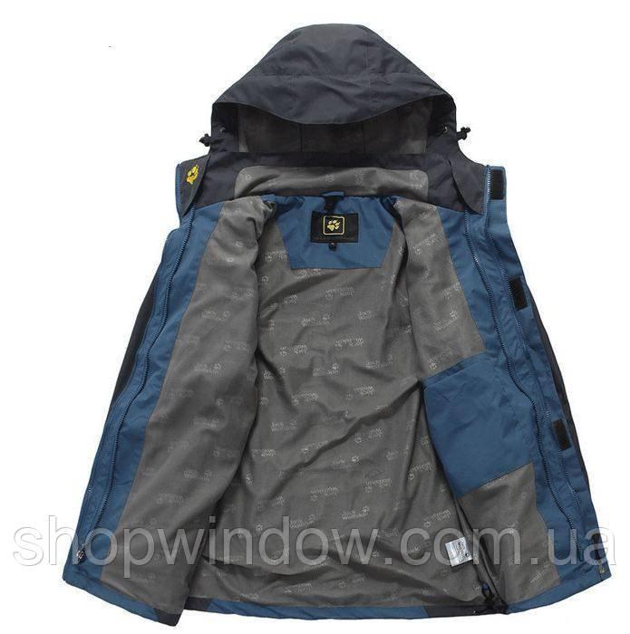 Водонепроницаемые Мужская куртка 2 в 1 JACK WOLFSKIN. Куртки спортивные  мужские. Флисовая куртка. 815446947e2