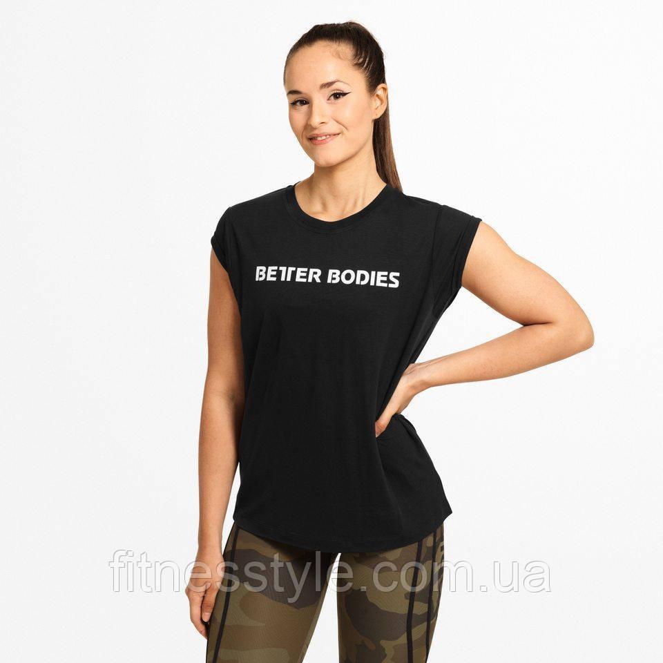 Футболка Better Bodies Astoria tee, Black/Black
