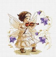 """Набор для вышивания крестом """"Luca-s"""" B1113 Звуки леса"""