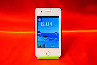 "IPhone Mini FaceTel T6 Android 4 на 2 Sim 3.5"" экран + стилус!"