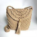 Шпагат (пряжа)  джутовая двухниточная для вязания, фото 7