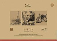 Папка для эскизов Школярик  А4+ 20 листов, 100 г/м2 Prof-art PD-A4-002