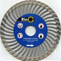 Круг алмазный турбо 115х7х22,2 RinG