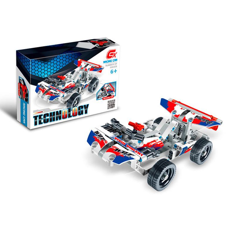 Конструктор дитячий блокова гоночна машина (DIY Car 168 bloks compatible Lego)
