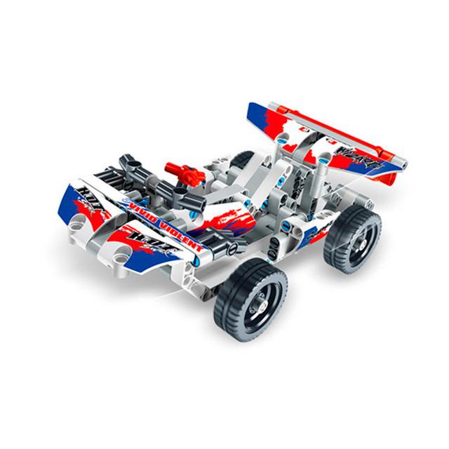 Конструктор дитячий блоковий гоночна машина