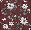 Шпалери паперові Таїсія 1485 коричневий