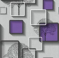 Обои бумажные Нелми 1489 фиолетовый, фото 1