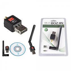 USB WI-FI адаптер з антеною WF-2 / LV-UW10-2DB