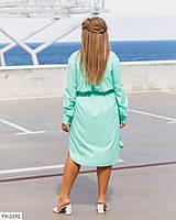 """Сукня жіноча модель: r306 (52, 54, 56) """"N. Family"""" недорого від прямого постачальника AP, фото 1"""
