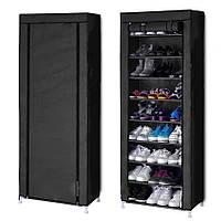 Складной тканевый шкаф для обуви 9 полок, Органайзер для обуви Сборный шкаф для хранения обуви T-1099