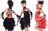 Бахрома танцевальная чёрная для одежды 13 см, тесьма 1 см, длина нитей 12 см, фото 7