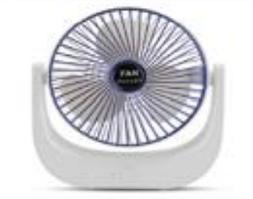Вентилятор портативный F139-BLUE