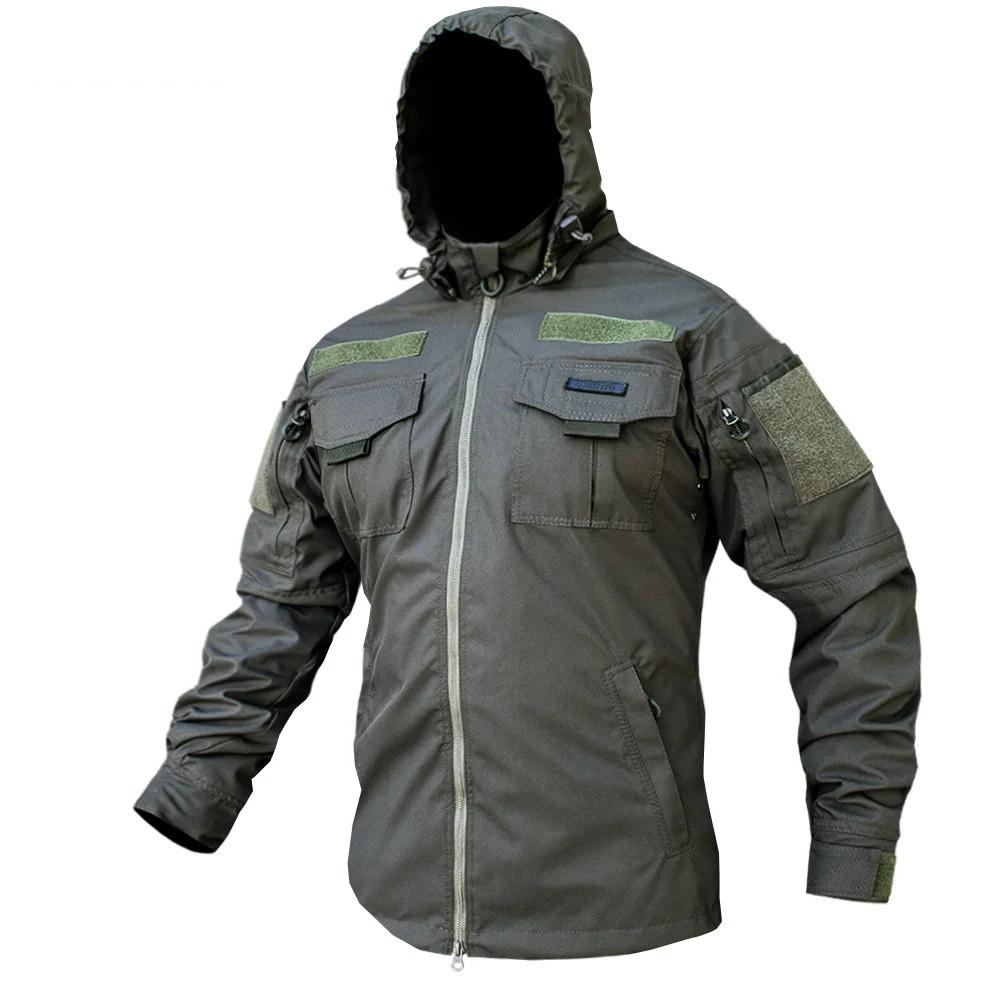 Куртка тактична ANTITERROR II Мембрана Olive