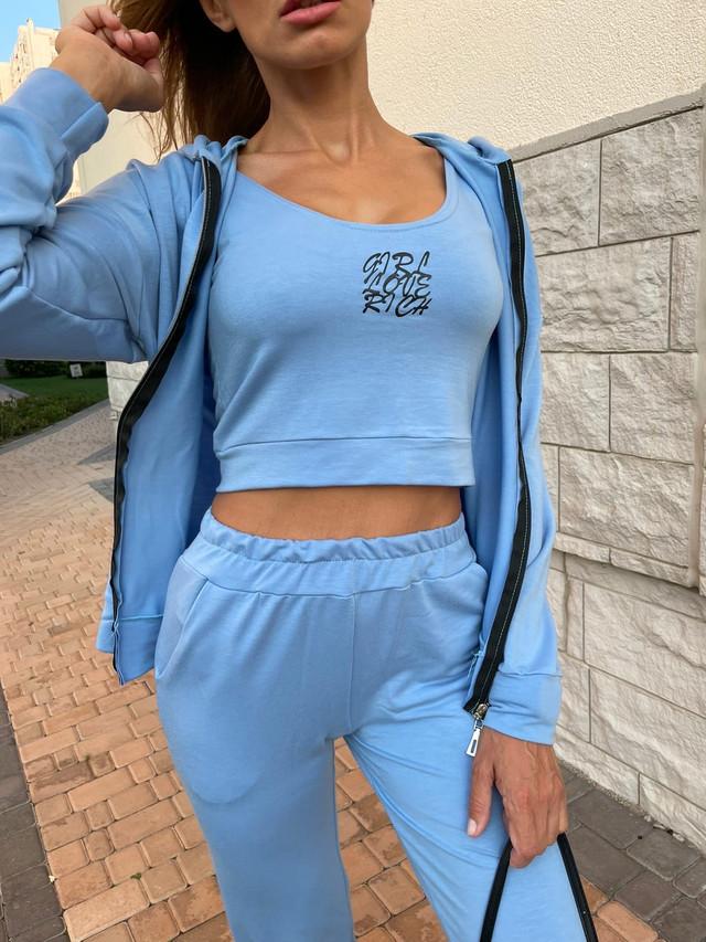 Модный костюм-тройка для спорта и фитнеса