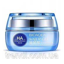 Зволожуючий крем для обличчя з гіалуроновою кислотою Bioaqua water get