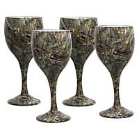 Набор бокалов Riversedge для вина Сamo Wine Glasses Bassofl 4 шт.