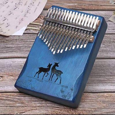Музыкальный инструмент Калимба 17 key Kalimba Blue 2 Deer