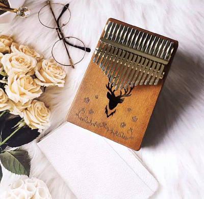 Музыкальный инструмент Калимба 17 key Kalimba Brown Deer