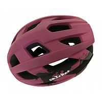 Шлем с козырьком взрослый Calibri FSK-Y53 L (58-61) Фиолетовый