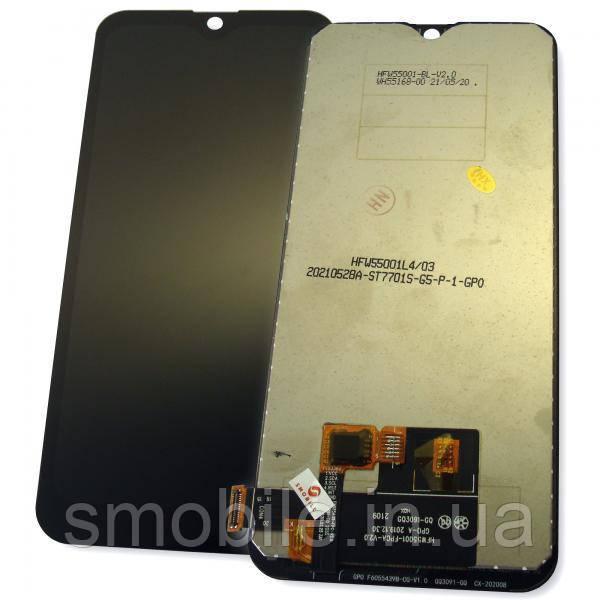 Дисплей Ulefone Note 8 / Note 8P з сенсором, чорний (оригінальна матриця)