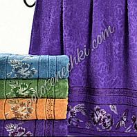 Махровое лицевое полотенце Бабочка и цветок (8)