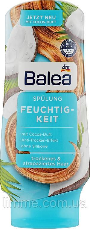 Бальзам - кондиціонер для сухого та пошкодженого волосся Balea Feuchtig - keit 300 ml.