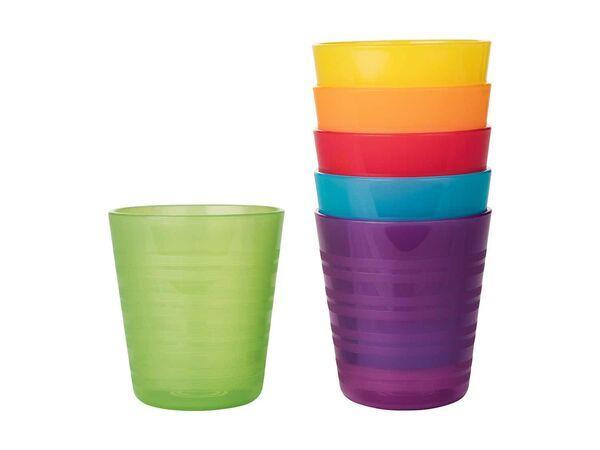 Набір пластикових стаканів Ernesto 6 шт. 220 мл