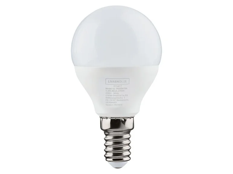 Набор LED лампочек Livarno Lux 3 шт. E27 40W
