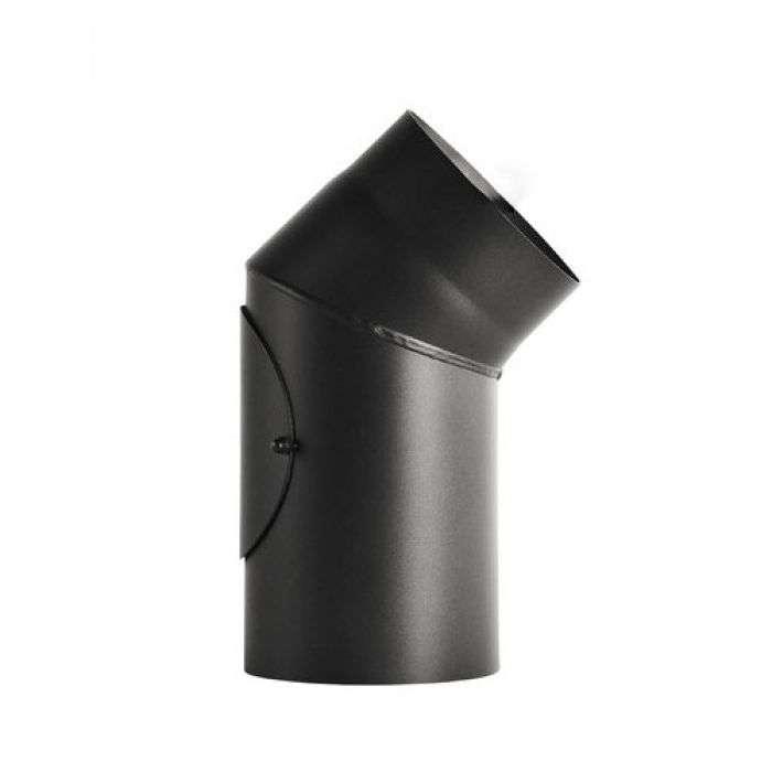 DARCO Труба 0,25 м одностінна чорна 2мм