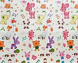 Детский складной игровой коврик 2-х сторонний EVA CARRELLO 200 XPE (180*1*200 см) Дорога | Бебипол, фото 2