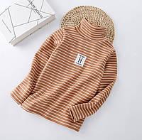 Водолазка для дівчинки H cloth 130 Бежевий (212354)