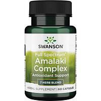 Амалаки полного спектра, антиоксидант, Swanson, 60 капсул