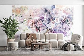 Фотошпалери квіти, абстракція «Wish», папір, вініл, флізелін