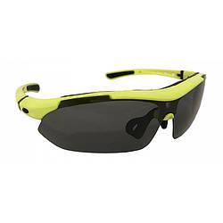 Окуляри велосипедні спортивні Calibri Yellow FSC-Жовті QG701