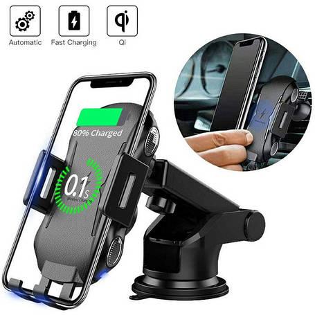 Автодержатели з бездротовою зарядкою | Wireless Qi Charger Car Mount