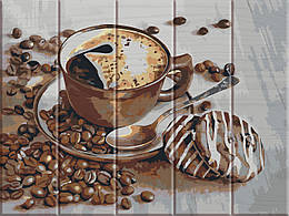 Картина по номерам Чашка кави, 30x40 см., Art Story