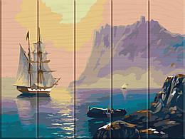 Картина по номерам Бухта, 30x40 см., Art Story