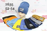 Шапки для мальчиков 52-54 см, Опт. Украина
