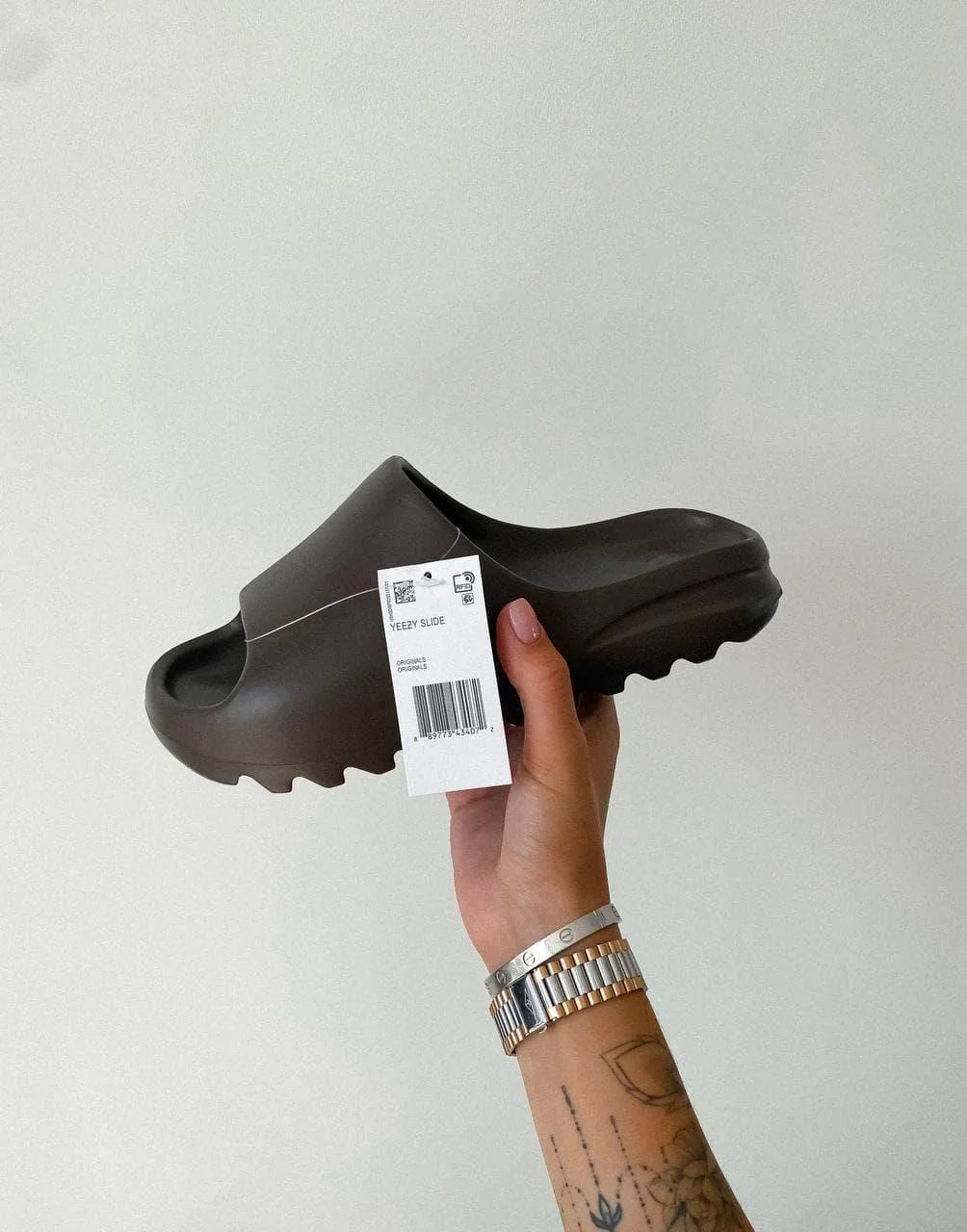 "Сланцы Adidas Yeezy Slides Earth Brown ""Коричневые"""