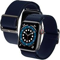 Нейлоновый ремешок Spigen для Apple Watch серии SE / 6 / 5 / 4 (42/44mm) - Band Lite Fit, Navy (AMP02287)