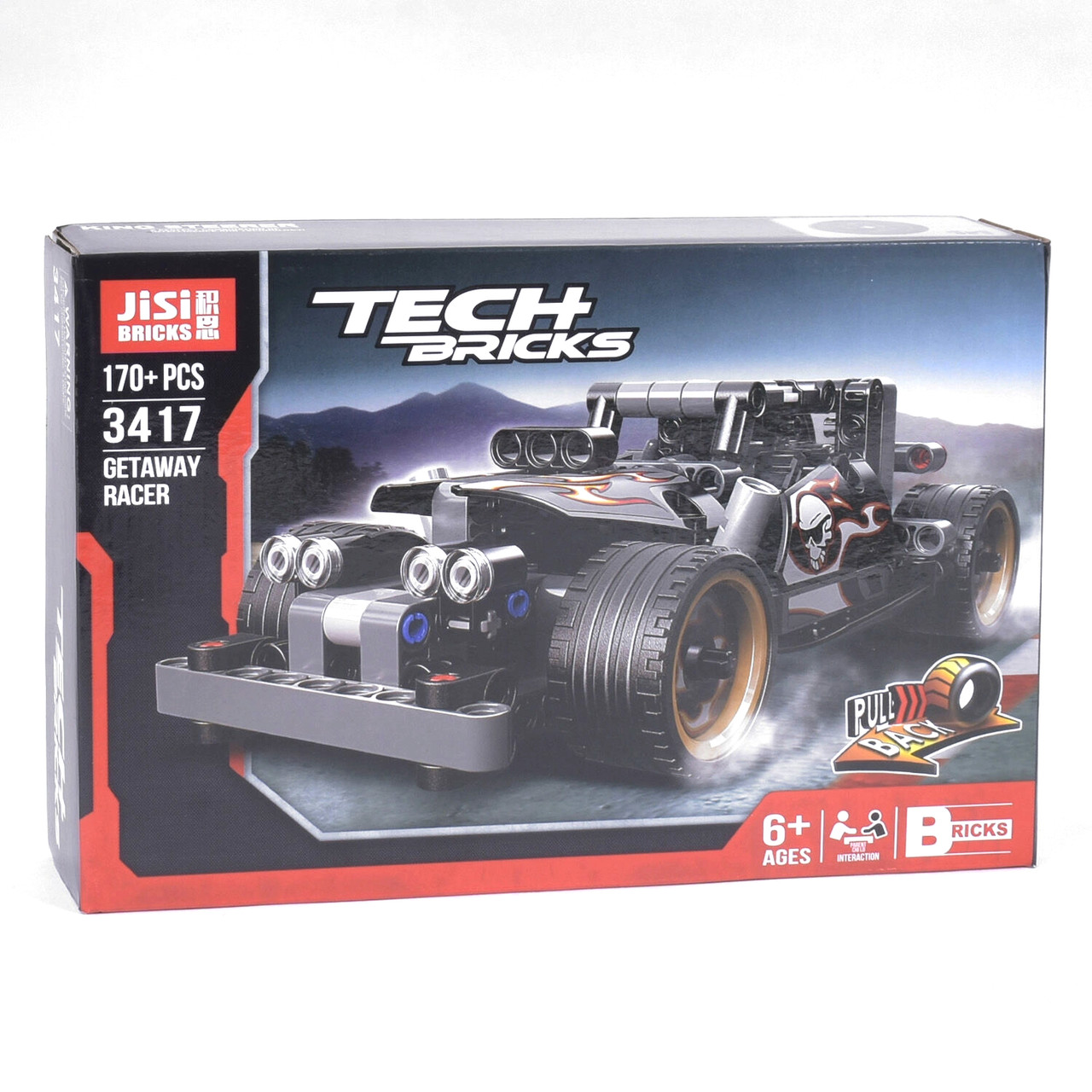 Конструктор Decool Jisi Bricks Tech Bricks 3417 170 деталей