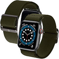 Нейлоновый ремешок Spigen для Apple Watch серии SE / 6 / 5 / 4 (42/44mm) - Band Lite Fit, Khaki (AMP02288)